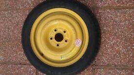 Dunlop Space Miser Mk III spare wheel T135 / 80 D15 99M