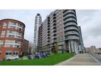 Superb one bed in New Providence Wharf, securely gated and 24 concierge,
