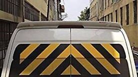 vw crafter / sprinter rear roof spoiler