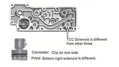 ford 4r100 e4od transmission solenoid block 1998 on. Black Bedroom Furniture Sets. Home Design Ideas