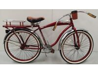 "26"" Huffy Champion Men's Cruiser Bike, Red RRP 329.99 Lot 334"