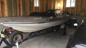 17ft Delta Craft Ski Boat