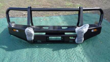 Ironman Winch Bull Bar suitable for Toyota Landcruiser 70 Series Rosewood Ipswich City Preview