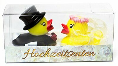 Purovi Rubber Ducks Bride and Groom  Gift and Cake Decoration  Wedding Bath G