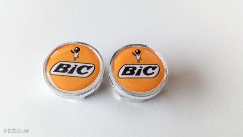 Vintage style BIC Handlebar End Plugs