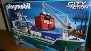 Playmobil Containerschiff