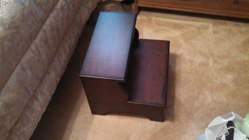 Bedside Step Stool Ebay