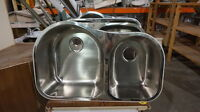 Various Double Stainless Steal Sinks