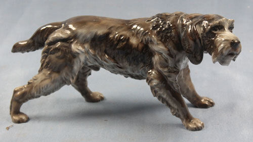 pointer figurine Rosenthal figur porcelain porcelainfigurine dog 1935