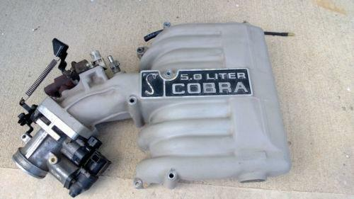mustang cobra intake manifold ebay. Black Bedroom Furniture Sets. Home Design Ideas