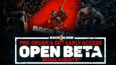 BACK 4 BLOOD EARLY ACCESS PC STEAM KEY GLOBAL
