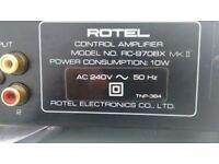Rotel RC-970BX MK II - Stereo Controller/ Pre-Amplifier