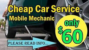 MINOR CAR SERVICE $60 - Mobile Mechanic 7 days/week Deer Park Brimbank Area Preview