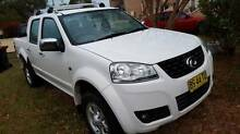 2012 Great Wall V200 TURBO DIESEL 6 Speed Manual 12 months rego Beverly Hills Hurstville Area Preview