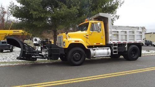 Dump Truck Snow Plow Ebay