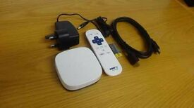 White Now TV Box, great condition, HDMI Cable & Remote included, can deliver.