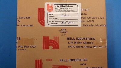 JW Miller Shielded Molded RF Choke p//n 9250-153 15uh -10/% Tolerance MS75089-1