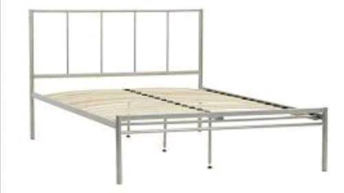 John Lewis Nova Bed Frame Double Silver Brand New In Box No