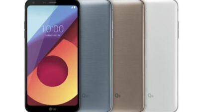 "LG Q6 32GB Platinum / Black 5.5"" Full Vision Display Unlocked M703 Smartphone"