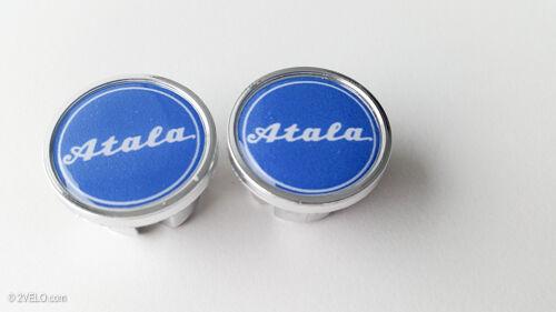 Vintage style ATALA Handlebar End Plugs