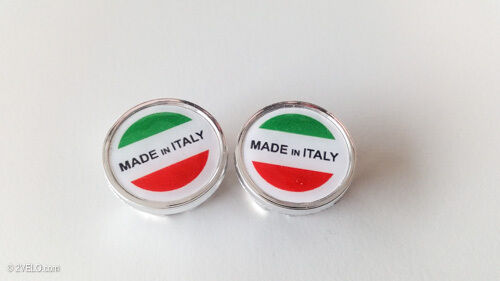 Vintage style MADE IN ITALY Handlebar End Plugs