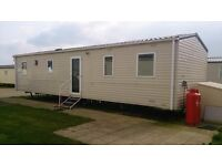 Caravan Holiday at Camber Sands - 3 bed Gold Plus - Mon 25th July - 4 nights - £540 incl passes