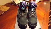 Jordan 5 Black Grape