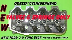 NEW FITS FORD FOCUS 2.0 SOHC #YS4E CYLINDER HEAD VALVES & SPRINGS ONLY