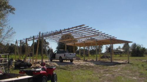 Pole Barn Truss Construction Ebay