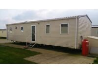 Caravan Holiday - Camber Sands - REDUCED £625pw from W/C 18th August - incl passes & bed linen