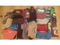 Boys clothes bundle 18-24 months (37 items)