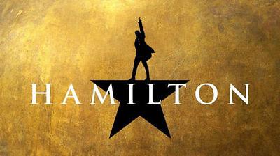 2 Hamilton Hartford Tickets 12/30/18 @1:00pm Balcony E Row K! Bushnell