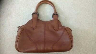 Brown Leather Handbag from Hidesign makers of Radley VGC