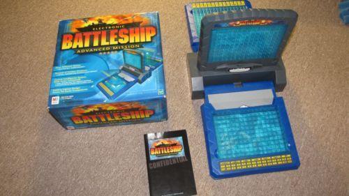milton bradley electronic battleship instructions