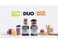 NEW! NINJA Nutri Bowl Duo Chef With Auto-IQ 1200W - NN100UK - RRP £179.99