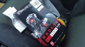 brand new boxed amd saphire RX480 8gb pci express