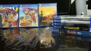PS4 Games (Limited Run Games and more)