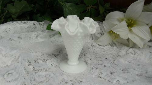 Fenton Hobnail Vase Ebay