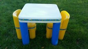 Table & Chairs - Little Tikes