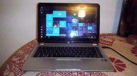 "HP Envy Touchsmart Ultrabook 4 Intel Core i5 8GB/1 TB HDD/14"" Win 10 pro"