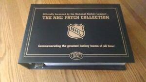 NHL team patch collection
