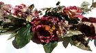 Faux Silk Rose Arrangement, Centerpiece & Swag Floral Décor
