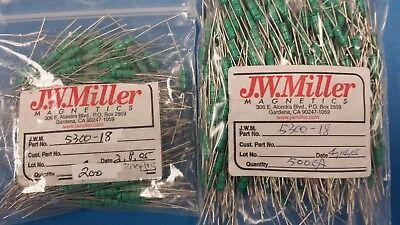 10 Pcs 5300-18 Jw Miller Fixed Rf Inductor 27uh 10