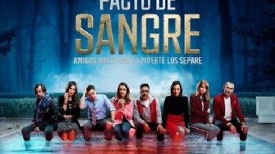 PACTO DE SANGRE,CHILE 2019,UNICA TEMPORADA,15 DVDS, usado comprar usado  Enviando para Brazil