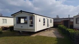 NEW Atlas Chorus Holiday Caravan 36ft x 12ft, 2 bedrooms for sale at caravan park on Hayling Island