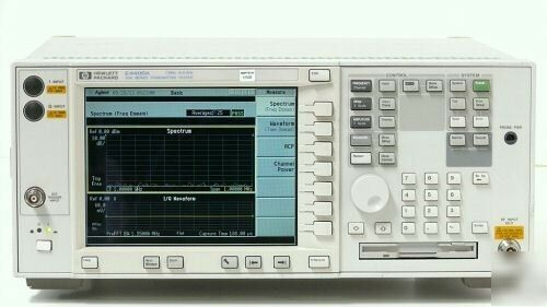 Agilent / HP E4406A VSA Series Transmitter Tester, 7 MHz - 4 GHz with Options
