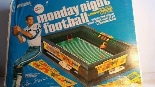 Monday Night Football Game Ebay