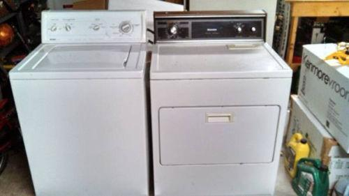 Used Washer And Dryer Set Ebay