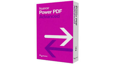 Nuance Power PDF Advanced v2 Viewer Creator Editor Converter - Instant Delivery