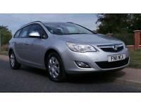 2011 Vauxhall Astra 1.7 CDTi 16V ecoFLEX Exclusiv 5dr 5 door Estate